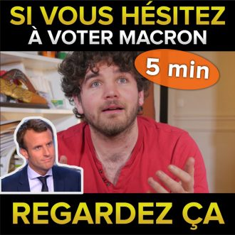 si vous hésitez à voter macron